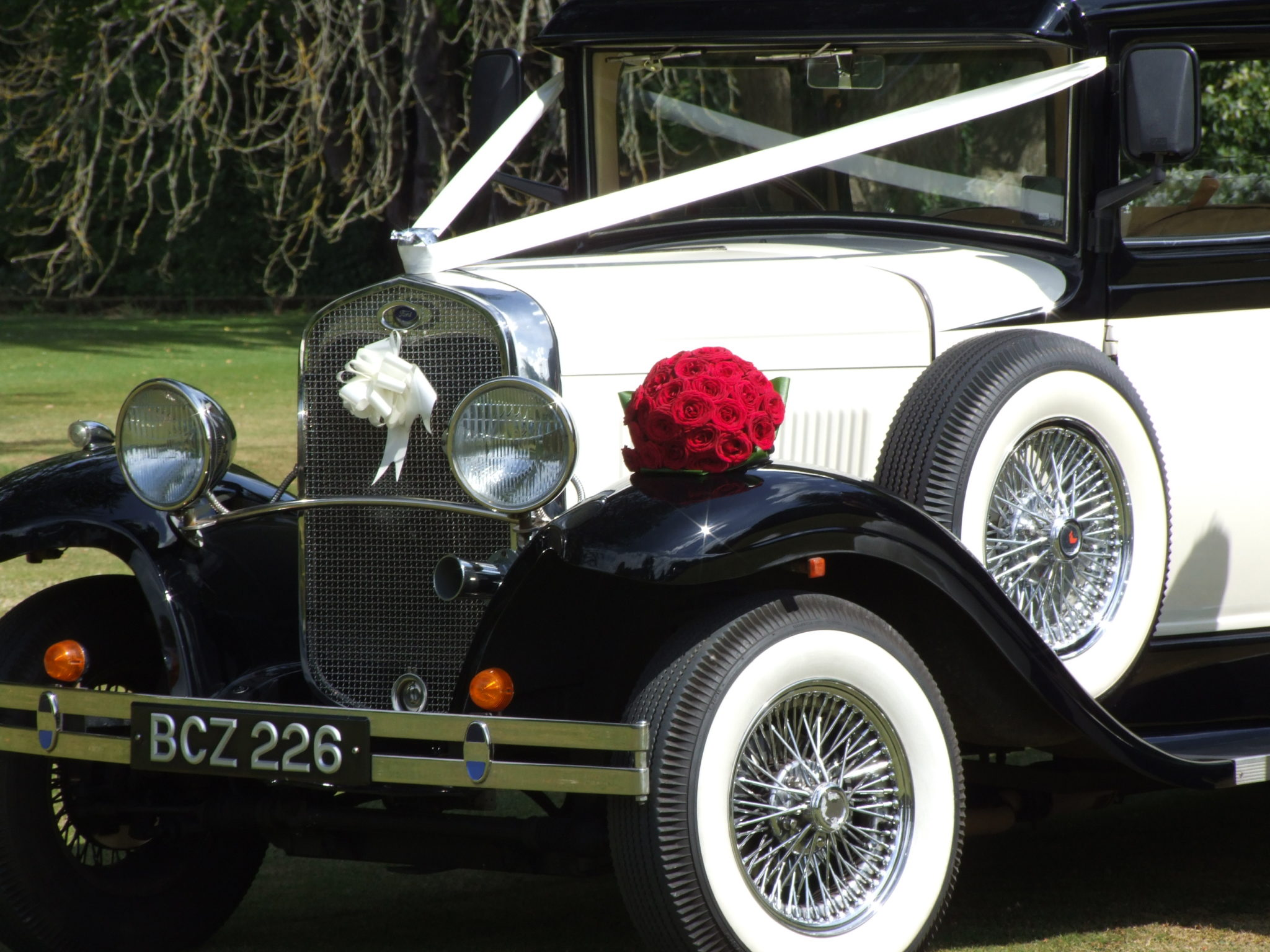 Wedding car hire testimonials in Reading