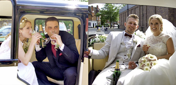 Always chauffeur wedding cars in Berkshire