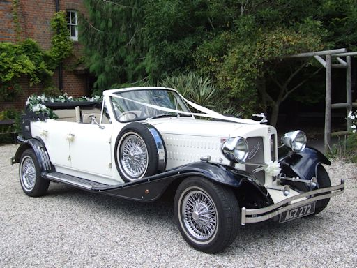 Beauford wedding car with experienced chauffeurs