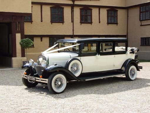 1920's Vintage Bramwith Limo Wedding Car