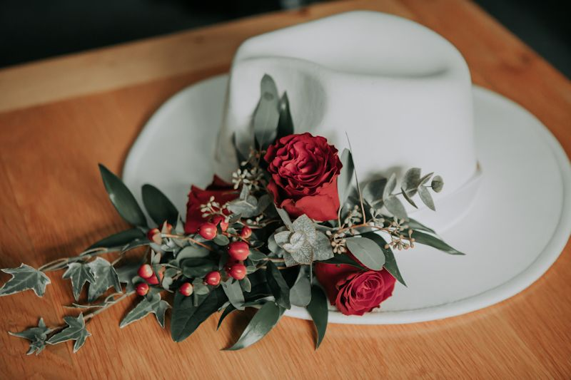 Try a hat for your wedding