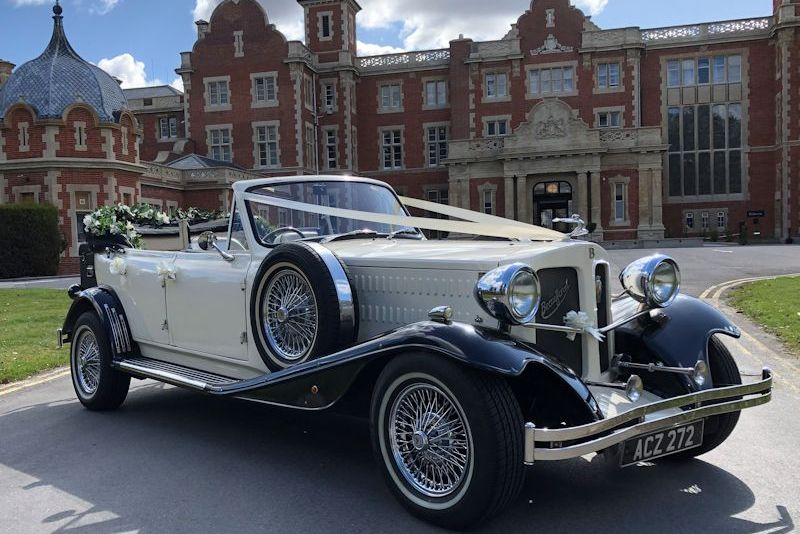 Beauford at a stately home