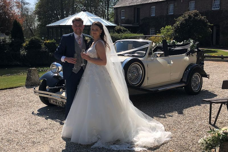 Bride and Groom with the Beauford
