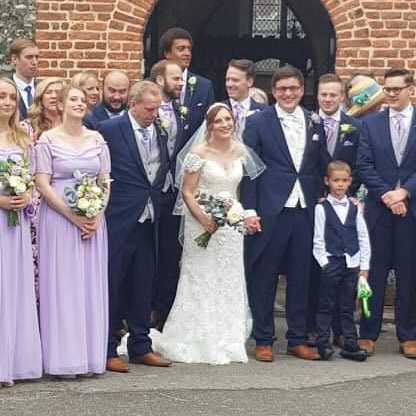 reliable wedding chauffeurs